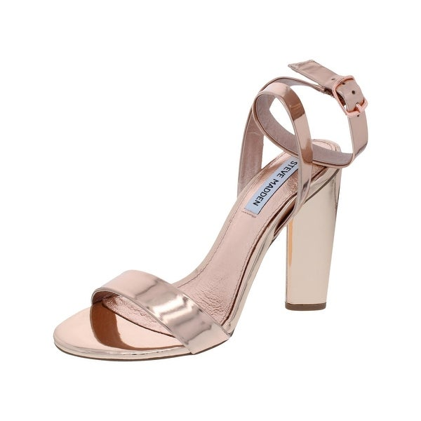 62fc2d8e2ed Shop Steve Madden Womens Treasure Strappy Sandals Patent Leather ...