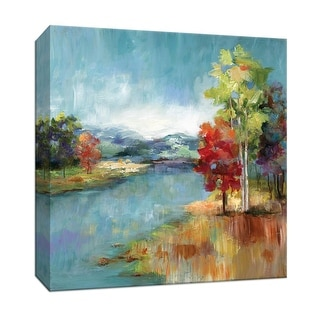 "PTM Images 9-147280  PTM Canvas Collection 12"" x 12"" - ""High Meadow"" Giclee Streams & Rivers Art Print on Canvas"
