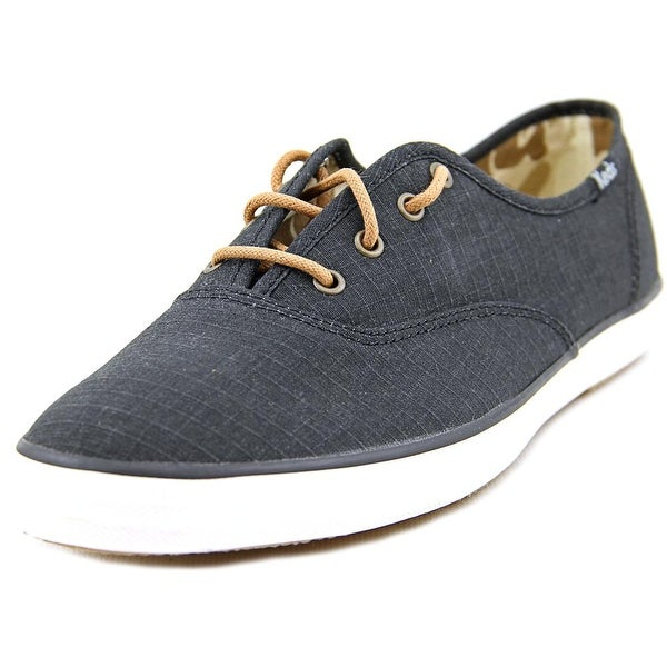 Keds CH Ripstop Women Round Toe Canvas Gray Sneakers
