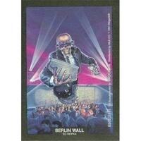 Berlin Wall Artwork Sticker Card Ed Repka, Megadeth 1991