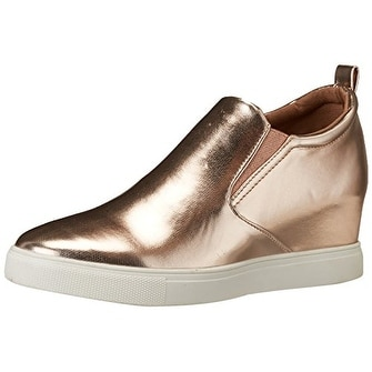 Madden Girl Womens PEPEE Hight Top Slip On Fashion Sneakers