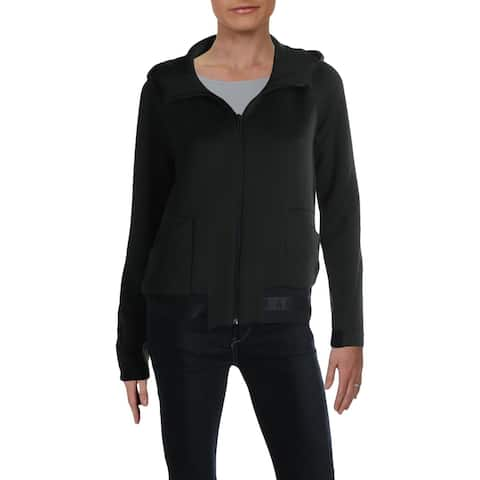 Philosophy Womens Pullover Sweater Ribbed Bell Sleeve - Chalkboard Heather