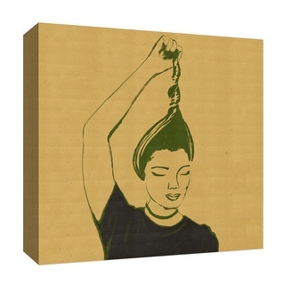"""PTM Images 9-126821  PTM Canvas Collection 12"""" x 12"""" - """"Sepia Woman II"""" Giclee Women Art Print on Canvas"""