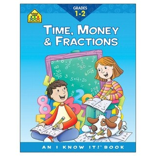 Curriculum Workbook-Time, Money & Fractions - Grades 1-2