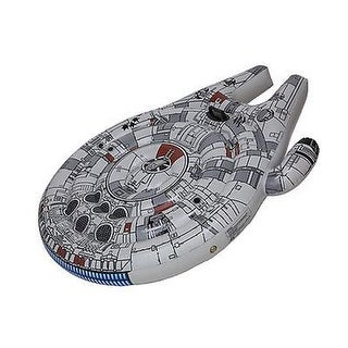 SwimWays 29141S Millennium Falcon Ride On Pool Float