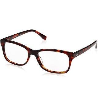 Lacoste Unisex Eyeglasses L2724-214 Havana Brown Full Rim Frames