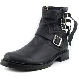 Frye Veronica Strap Short Women  Round Toe Leather  Ankle Boot