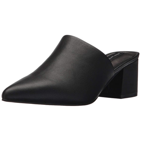 317c94f54bf Shop Steven by Steve Madden Womens Simone Leather Pointed Toe Mules ...