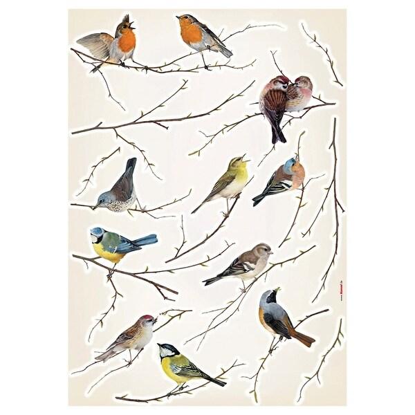 Brewster LV19005 Birds Appliques - n/a - N/A