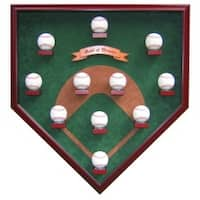 My Field of Dreams Modern Day Version Homeplate Shaped