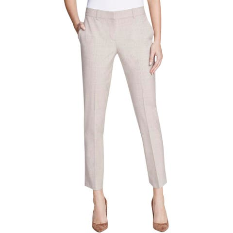 Theory Womens Testra 2B Dress Pants Wool Belt Loop