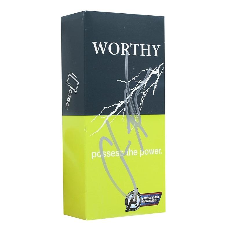 Marvel Avengers 3.4 oz Worthy Cologne Spray for Men - Autographed Box - Multi (Multi)