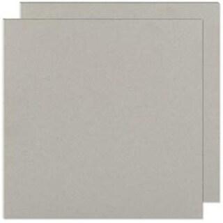 "Gray Chipboard - Cinch Book Board 8""X8"" 2/Pkg"