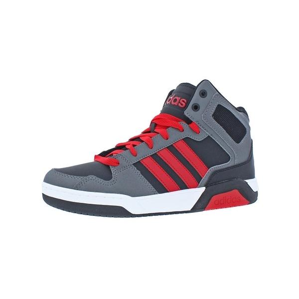adidas NEO Boys BB9TIS Mid K Basketball Shoes Big Kid Performance - 6  medium (d 25b1c4014
