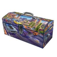 Sainty International 24-028 Art Deco Tool Box, 16""