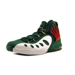 Nike Zoom Sonic Flight Men Round Toe Synthetic Green Basketball Shoe
