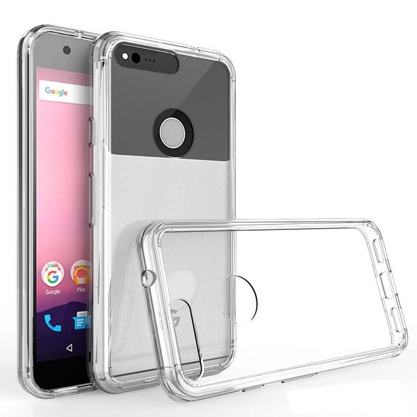 KuKu Mobile Acrylic Case for Google Pixel (Clear)