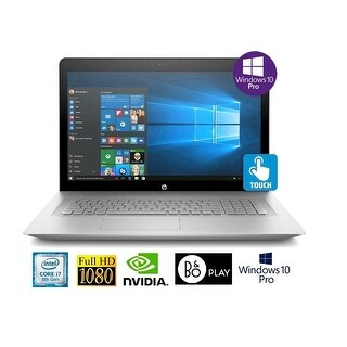 "HP Envy 17-u294 i7-8850U 16GB 17.3"" Full HD Touch NVIDIA 4GB Win 10 Pro Laptop"