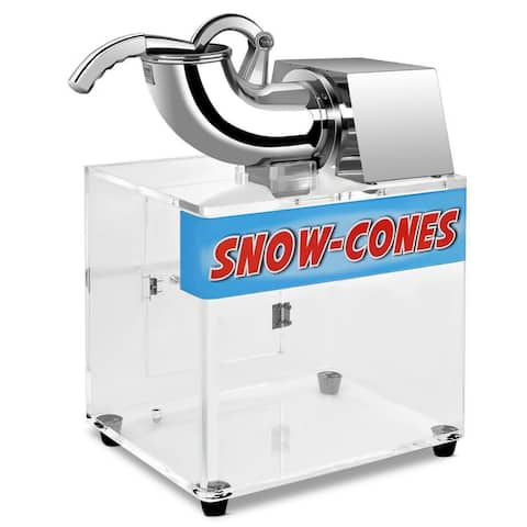 Costway Electric Snow Cone Machine Ice Shaver Maker Shaving Crusher