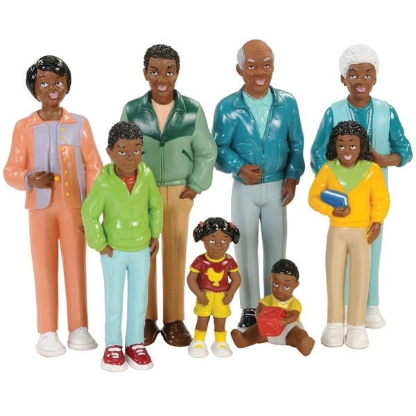 Family Play Set - African-American. Opens flyout.