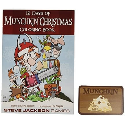 12 Days Of Munchkin Christmas Card Game