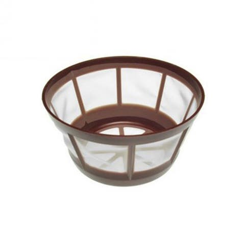 Replacement Coffee Mesh Basket Fits 8-12 Cup Coffee Filter (Single Pack)