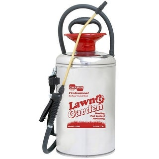 Chapin 31440 Stainless Steel Lawn And Garden Sprayer, 2 Gallon