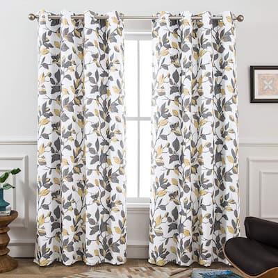 Carson Carrington Tanum Blackout Lined Window Curtain Panel Pair