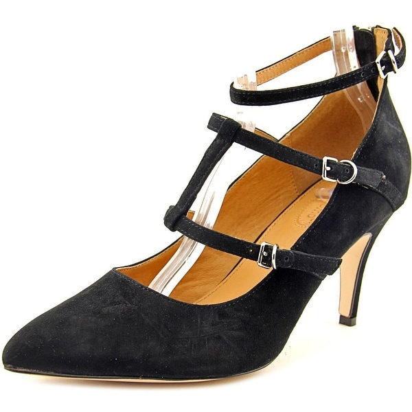 Corso Como Carter Women  Pointed Toe Suede Black Heels