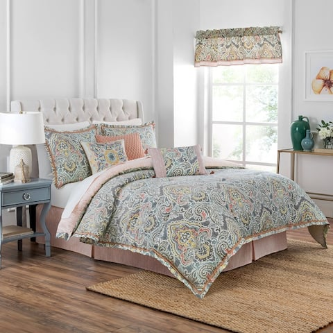 Waverly Artisanal 4 Piece Comforter Set