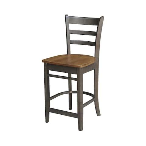 "Emily Counterheight Stool - 24"" Seat Height - 24""H"