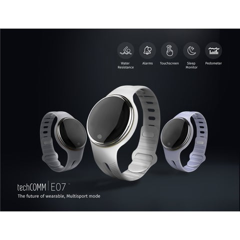TechComm E07 IP67 Waterproof Bluetooth Smart Watch with Touch Screen