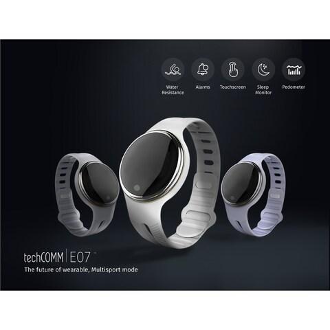 TechComm E07 IP67 Waterproof Bluetooth Smart Watch Fitness Tracker