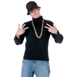 Fun World Old School Rapper Kit - Black/gold