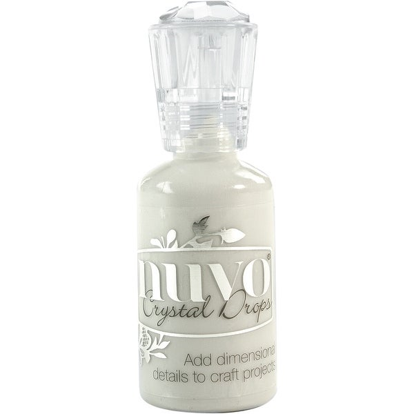 Nuvo Crystal Drops 1.1oz-Oyster Gray
