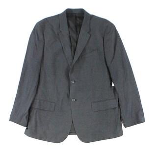 Calvin Klein NEW Gray Mens Size 2XL Two Button Notch Collar Blazer