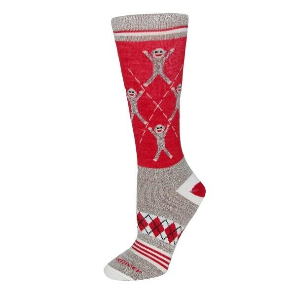 Fox River Women's Extended Size Argyle Monkey Socks