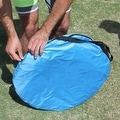 Portable Beach Tent Outdoor Sun Shelter 90-percent UV Protection - Thumbnail 4