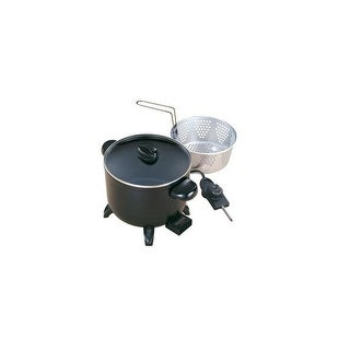 Presto 06006 Kitchen Kettle Multi Cooker, Fryer & Steamer,
