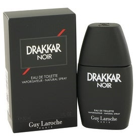 DRAKKAR NOIR by Guy Laroche Eau De Toilette Spray 1 oz - Men