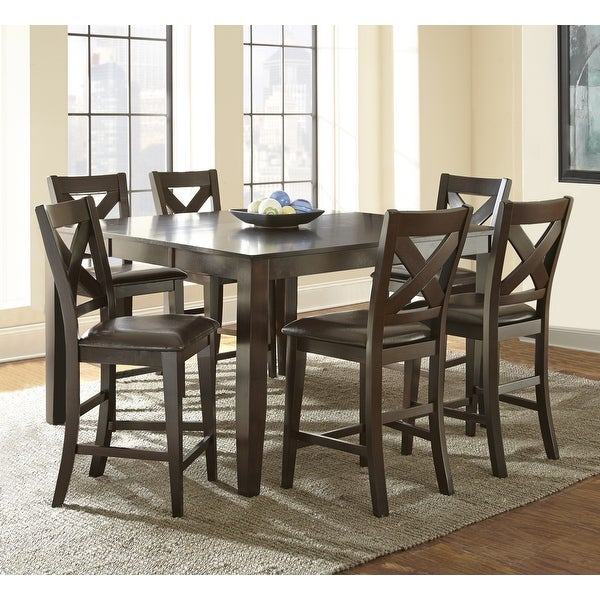 Copley Counter Height Dining Set with Self Storing Leaf by Greyson Living. Opens flyout.