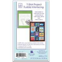 """T-Shirt Project Fusible Interfacing-60""""X72"""" - White"""