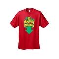 Men's Funny T-Shirt It's Magically Delicious Irish Plush St. Patrick Leprechun Humor - Thumbnail 5