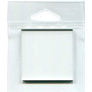 "Joggles Clear Acrylic Stamp Mount 2""X2""-2""X2"""