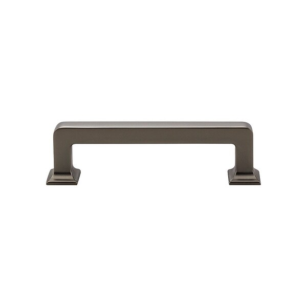 """Top Knobs TK703 Ascendra 3-3/4"""" Center to Center Handle Cabinet Pull from the Transcend Series"""