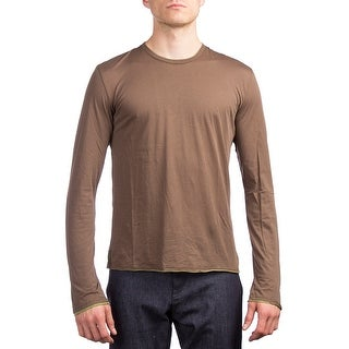 Prada Men's Cotton Long Sleeve Shirt Green