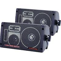 Box Speaker Pyramid 3-Way 100 Watt Bass Reflex