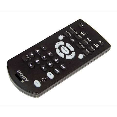 NEW OEM Sony Remote Control Shipped With XAVAX100, XAV-AX100, XAVAX1000, XAV-AX1000