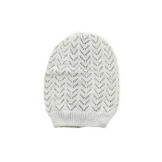 David & Young Womens Crochet Reversible Beanie Hat - o/s