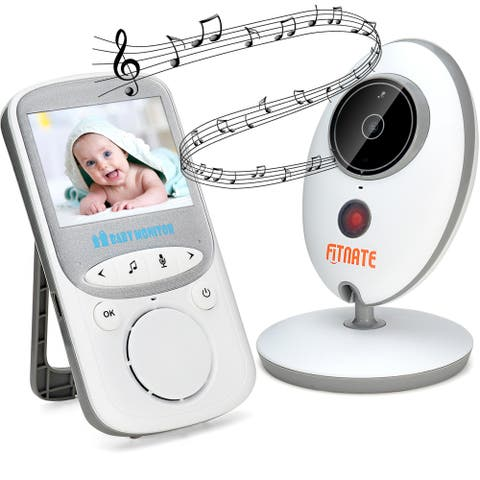 Wireless Baby Monitor with Camera and Audio Night Vision - White - S